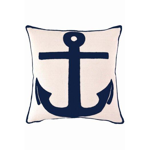 Dash and Albert Rugs Fresh American Admiral Polypropylene Pillow