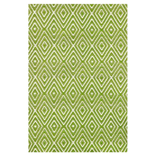 Dash and Albert Rugs Woven Sprout Diamond Indoor/Outdoor Area Rug