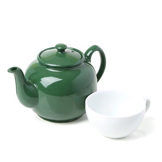 Fox Run Craftsmen 1.5-qt. Peter Sadler Teapot in Green