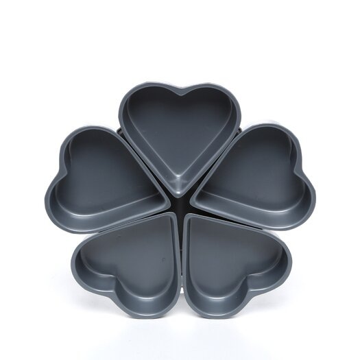 Fox Run Craftsmen Non-Stick Linked Heart Pan