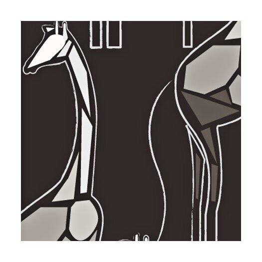 Kreme LLC California Cutpaper Giraffes Wallpaper