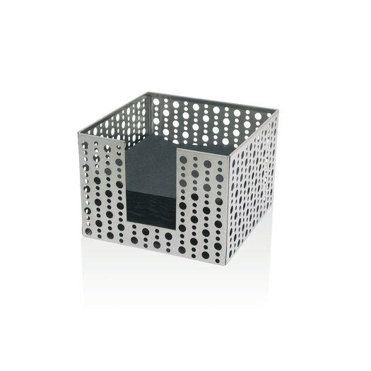 Front Of The House Stainless Steel Dots Napkin Holder
