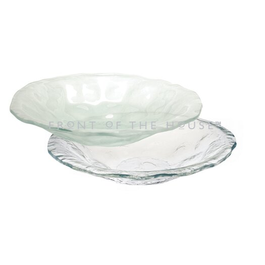Front Of The House Arctic Flare Serving Bowl