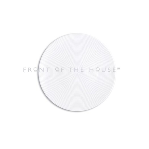 """Front Of The House Spiral 12"""" Round Plate"""