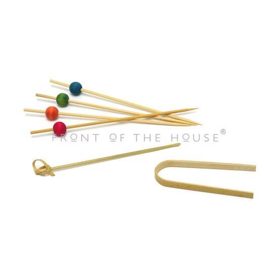 Front Of The House Bamboo Sampler Utensil Set
