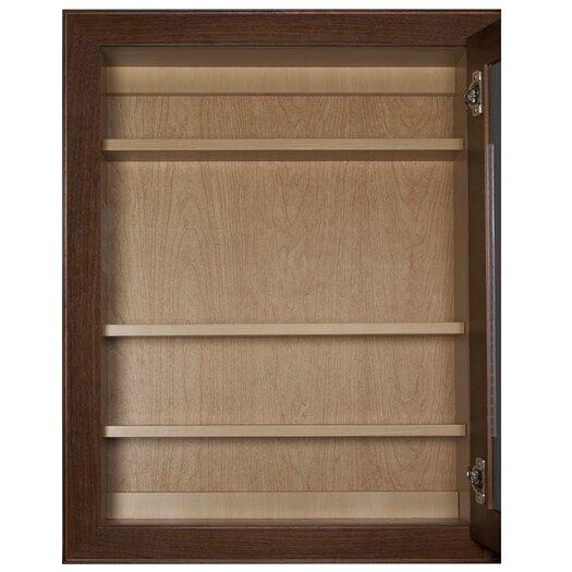 "Coastal Collection Vintage Series 24"" x 30"" Beveled Edge Medicine Cabinet"