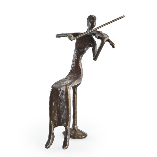 Danya B Female Violin Player Figurine