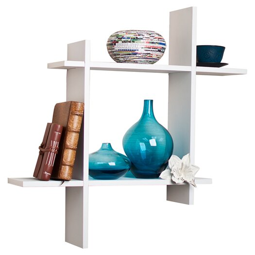 Danya B Asymmetric Floating Wall Shelf