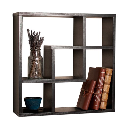 Danya B Geometric Square Wall Shelf