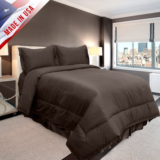 Veratex, Inc. Supreme Sateen Comforter Set