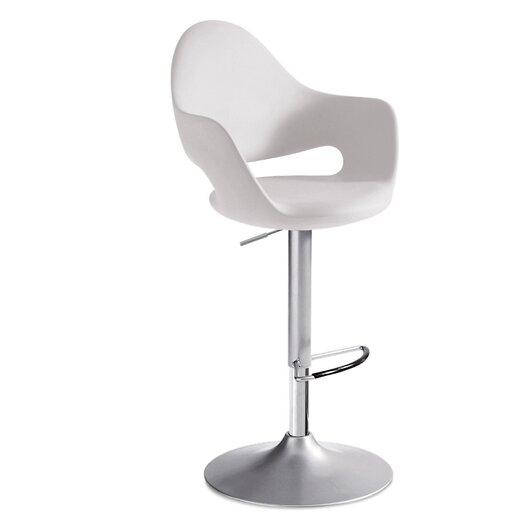 Soft Adjustable Height Bar Stool