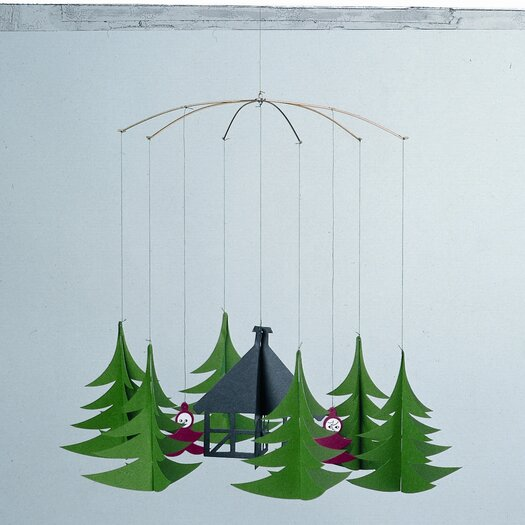 Flensted Mobiles Christmas Pixies in the X-Mas Forest Mobile