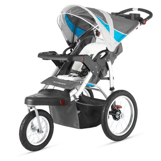 Schwinn Turismo Swivel Wheel Jogging Stroller