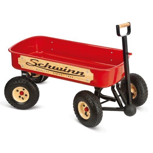 Schwinn Quad Steer Wagon Ride-On