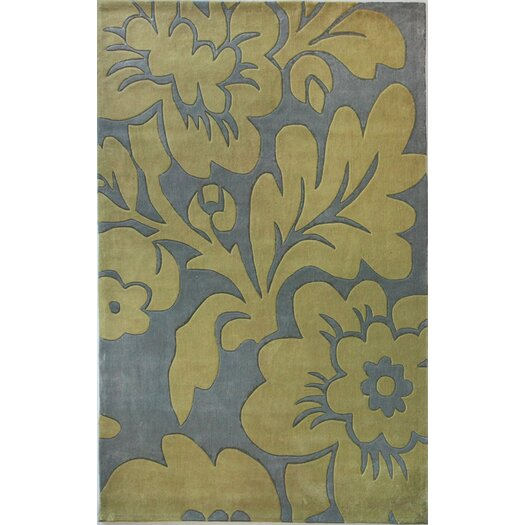 nuLOOM Pop Chelsea Blue/Yellow Rug