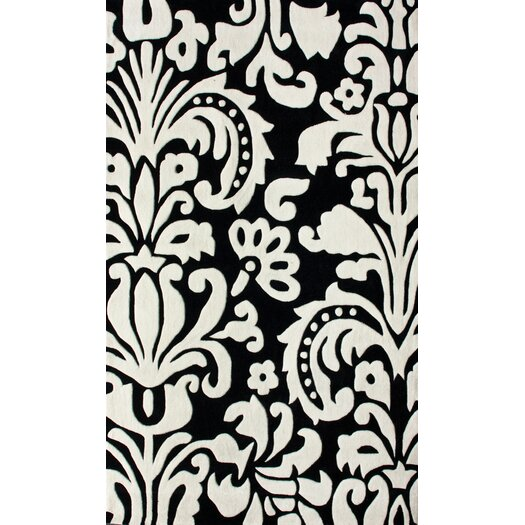 nuLOOM Pop Paris Black/White Rug