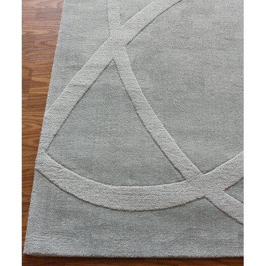 nuLOOM Gradient Loops  Light Grey Rug