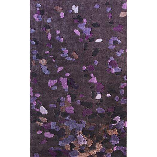 nuLOOM Cine Splash Purple Area Rug
