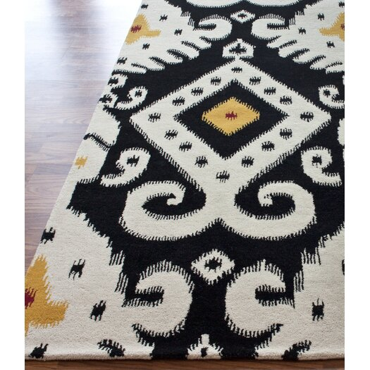 nuLOOM Pop Antiqued Ikat Midnight Rug