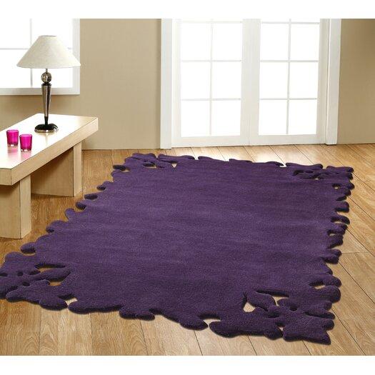 nuLOOM Elegance Simplicity Purple Area Rug