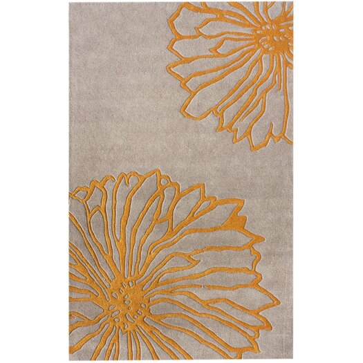 nuLOOM Gradient Yellow Floral Area Rug