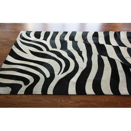 nuLOOM Hudson Zebra Black/White Area Rug