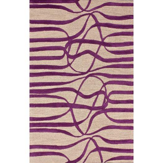 nuLOOM Bella Elite Purple Area Rug