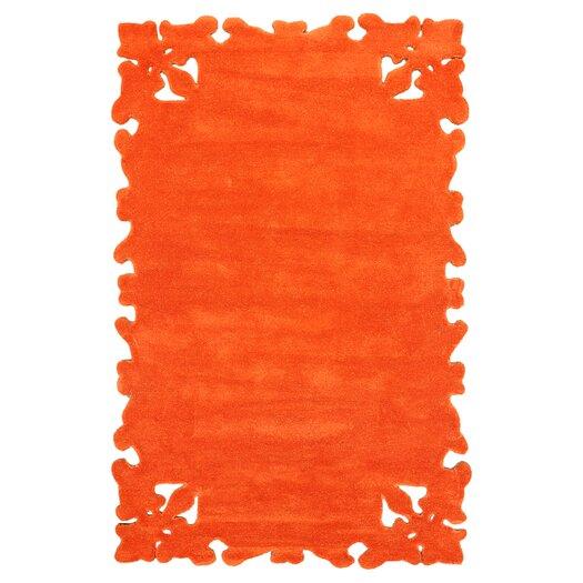 nuLOOM Posh Orange Area Rug