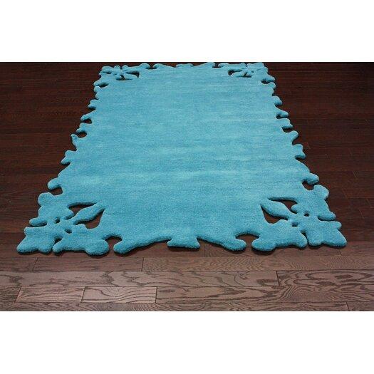 nuLOOM Posh Turquoise Area Rug