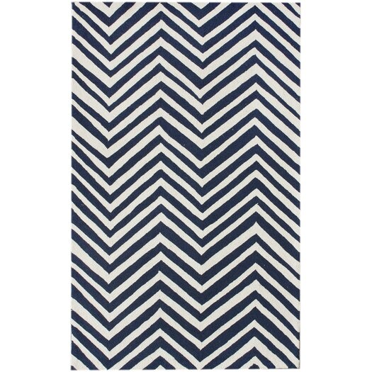 nuLOOM Chelsea Charcoal / Ivory Chevron Area Rug