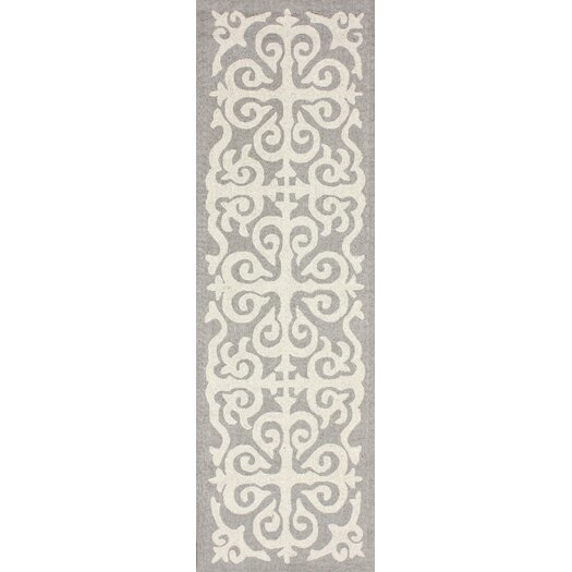 nuLOOM Trellis Enchant Dawn Gray Area Rug