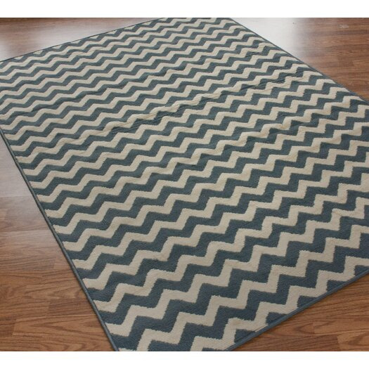 nuLOOM Allure Chevron Light Blue Area Rug
