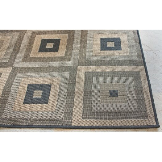 nuLOOM Villa Haler Brown Outdoor Area Rug
