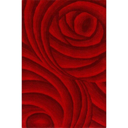 nuLOOM Modella Red Sienne Rug