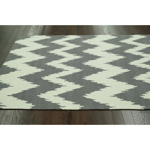 nuLOOM Pop Soft Grey nuChevron Area Rug