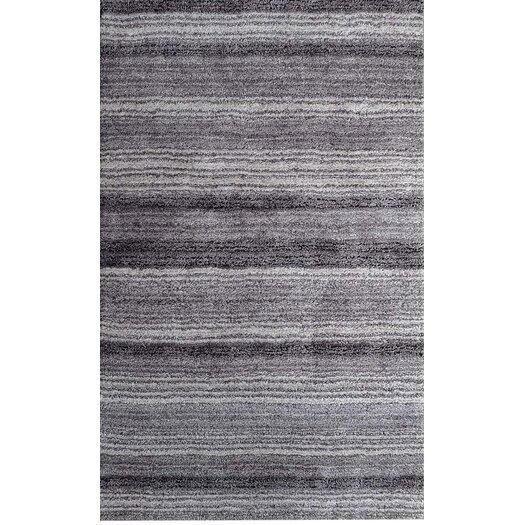 nuLOOM Cine Grey Multi Striped Area Rug