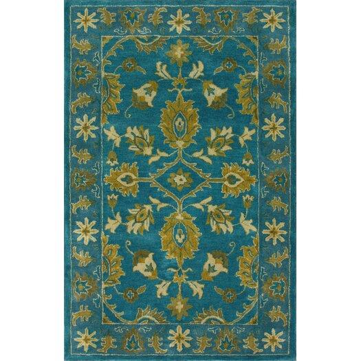 nuLOOM Overdye Turquoise Overdyed Area Rug
