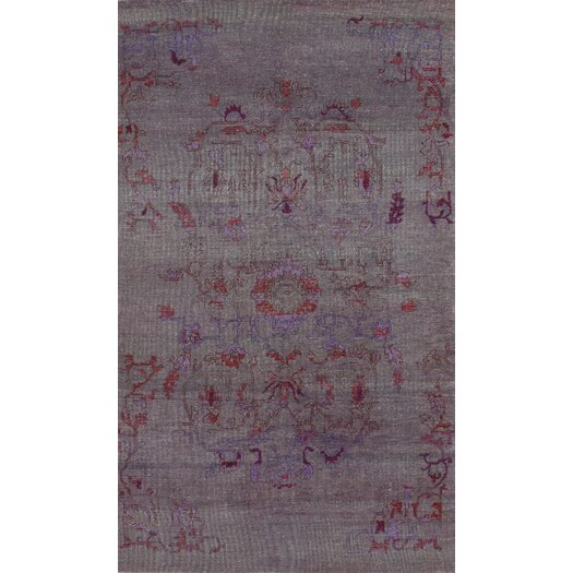 nuLOOM Zem Cobblestone Ashley Purple Area Rug