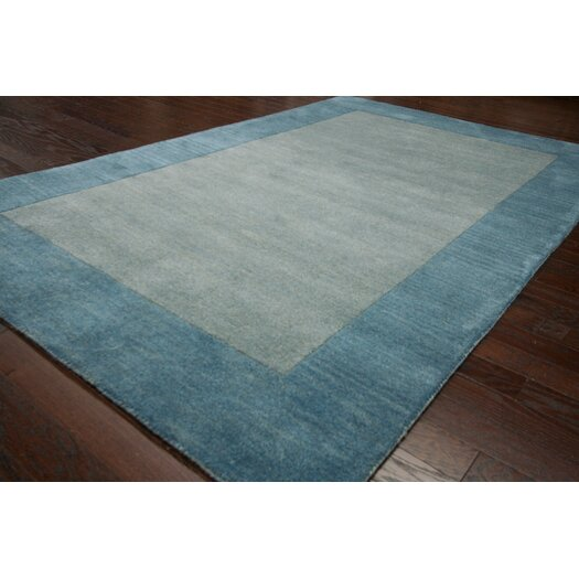 nuLOOM Brilliance Ice Blue Simplicity Area Rug