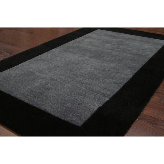 nuLOOM Brilliance Charcoal Simplicity Area Rug