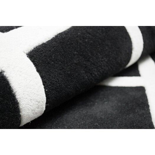 nuLOOM Fancy Charcoal Naoka Trellis Area Rug