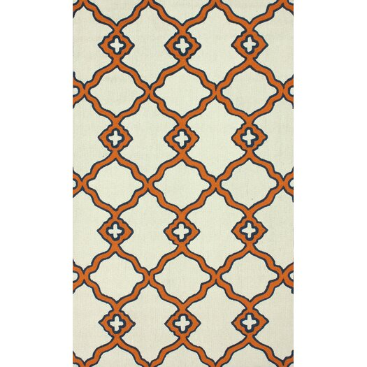 nuLOOM Trellis Orange Naara Area Rug