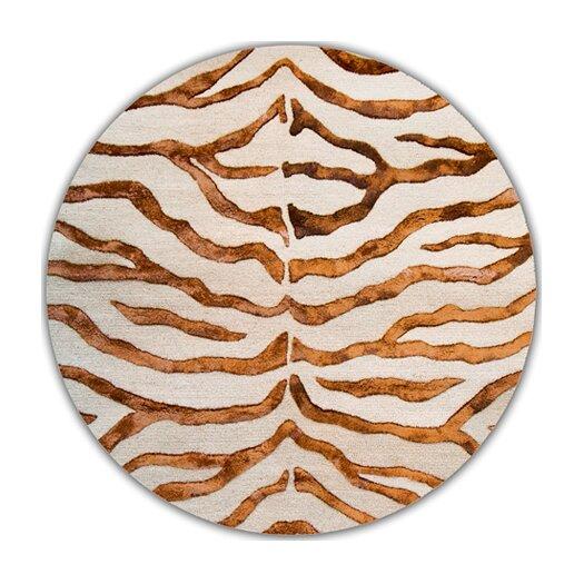 nuLOOM Earth Soft Zebra Brown Area Rug
