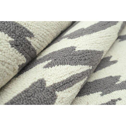 nuLOOM Pop Soft Grey Ikat Area Rug