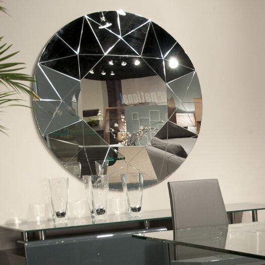 Star International Facet Wall Mirror