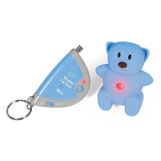 Mommy I'm Here Locator and Alert in Light Blue