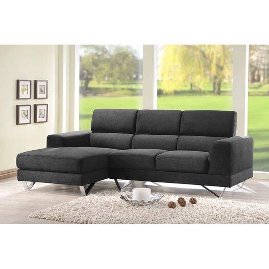 DG Casa Camden Sectional Sofa with Left Facing Chaise