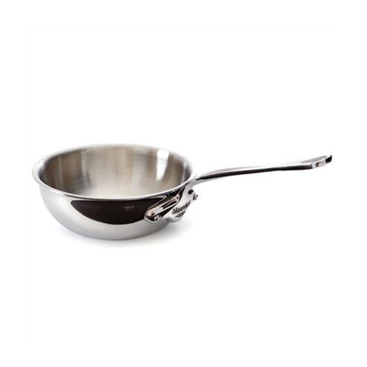 Mauviel M'cook Cook'Style 0.9-qt. Curved Splayed Saute Pan