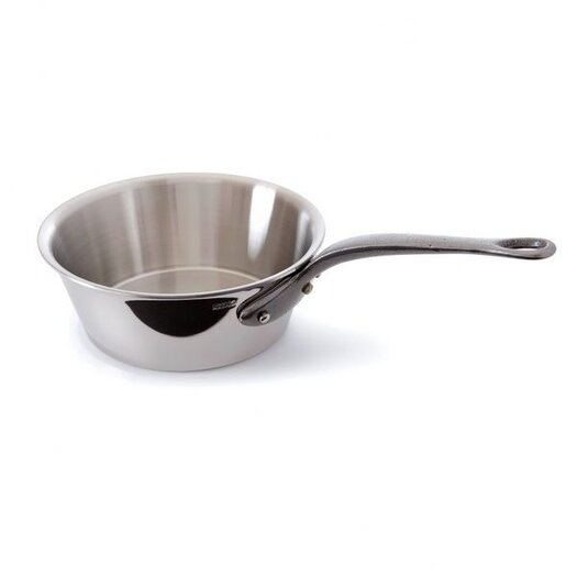 Mauviel M'cook Splayed Saute Pan