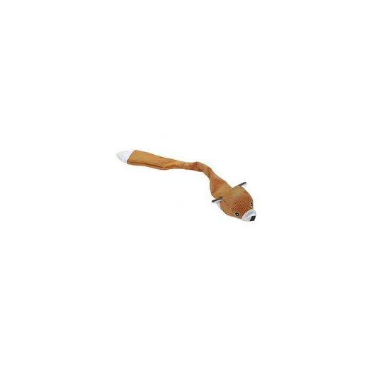 Ethical Pet Skinneeez Durables Fox Dog Toy in Tan